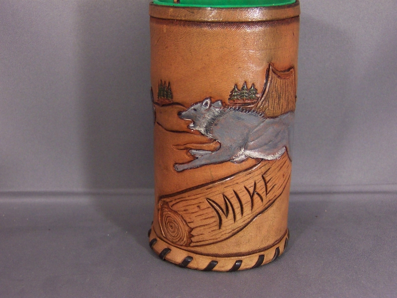 Wolf Coozie 002