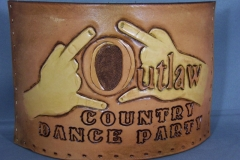Belt, outlaw coozies 006