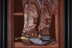 Boots in the Window 8x10