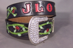 Ladybug and Vine Belt