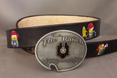 Minion Belt with Ranch Buckle