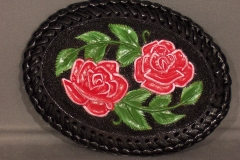 Tooled Belt Buckle