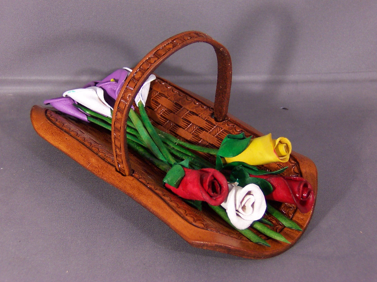 Flower Basket Sculpture