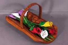 Flower Basket Sculpture