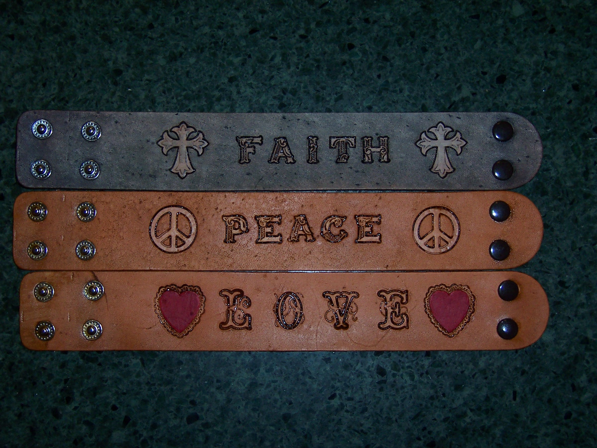 Stamped Bracelets