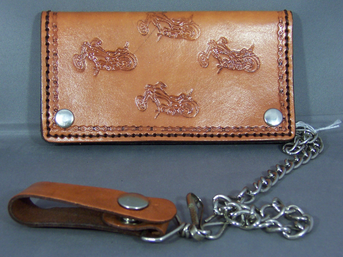 Biker Wallet with Choppers