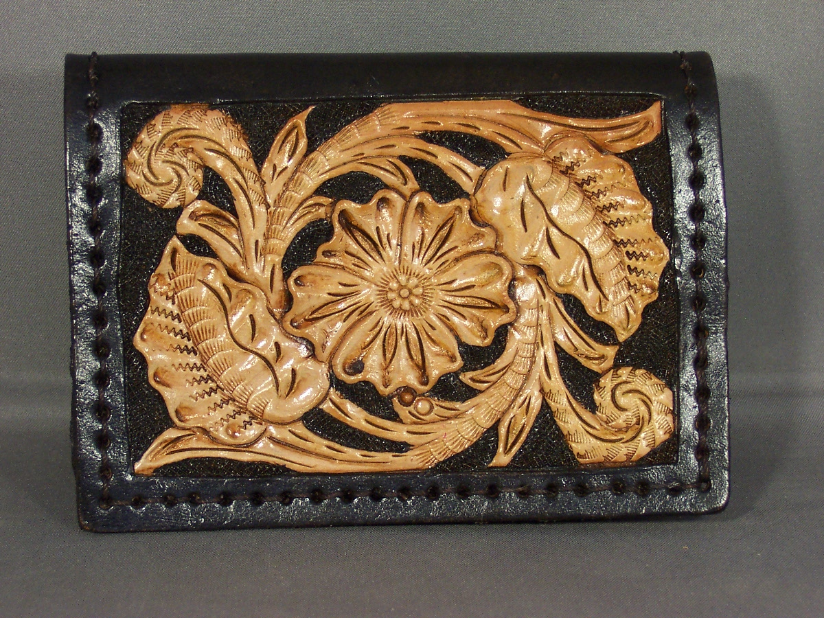 Sheridan Tooled Card Case